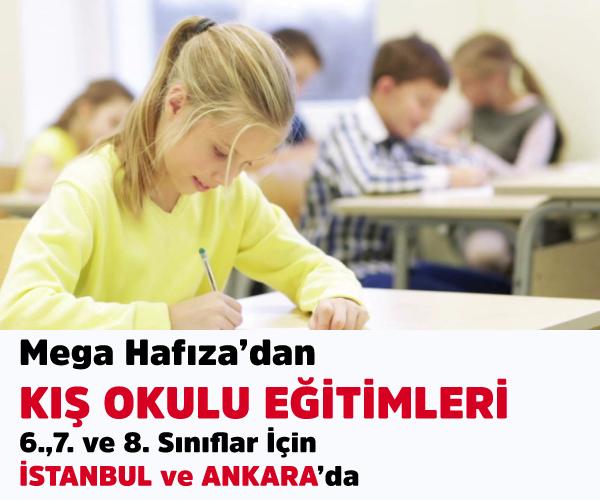 Ankara/İstanbul Kış Okulu - Mega Hafıza