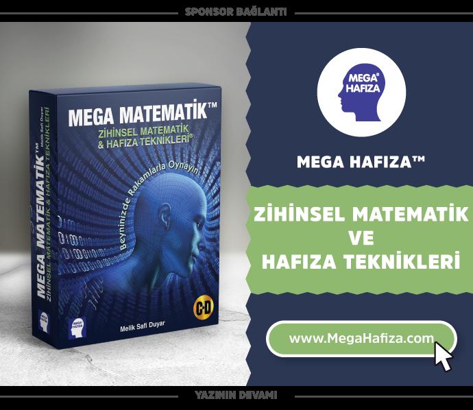 Mega Matematik - Zihinsel Matematik ve Hafıza Teknikleri