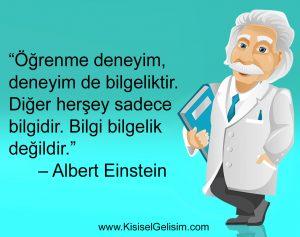 Einstein'den İlham Veren Dersler - 1