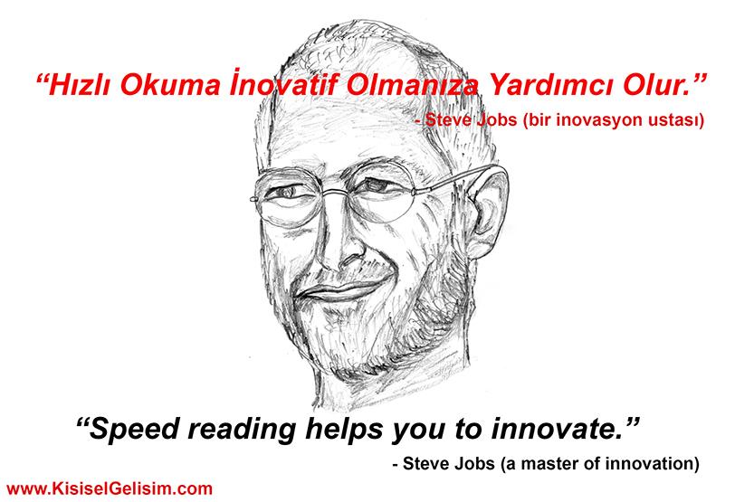 Hızlı Okumanın Yararları- Steve-Jobs