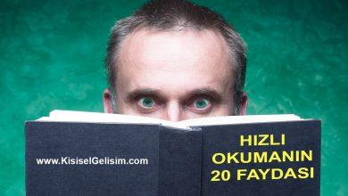 Hızlı Okumanın Faydaları - Hızlı Okumanın 20 Yararı