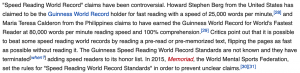 Hızlı Okuma Dünya Rekoru'nu Guinness Neden Onaylamıyor