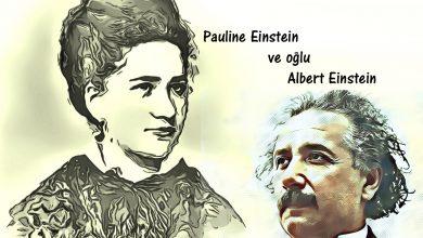 Anne Pauline Einstein ve oğlu Albert Einstein