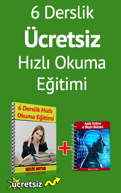 Ücretsiz Hızlı Okuma Eğitimi