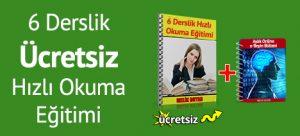 Anlayarak hızlı okumak - hızlı okuma eğitimi