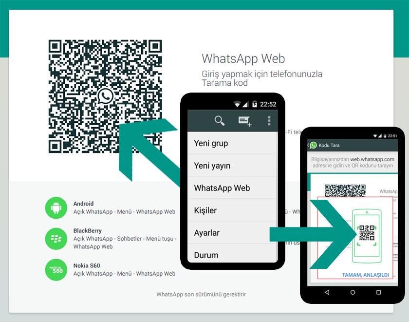 whatsapp webandroid barkod okuma kurulum