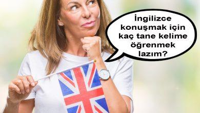 ingilizce konuşmak için kaç tane ingilizce kelime bilinmeli