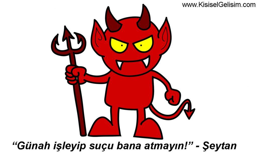 şeytan ne yaptı - hitabet sanatı