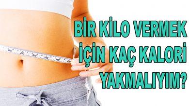 1 Kilo Vermek için Günde Kaç Kalori Yakmak Gerekir