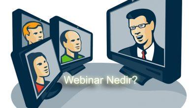 Photo of Webinar Nedir  – Web Seminerleri Hakkında Neler Biliyorsunuz?