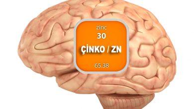 Çinko ve Beyin - çinko eksikliği