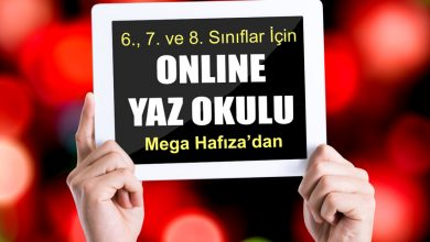 Photo of Mega Hafıza – 6., 7., ve 8. Sınıflar İçin Online Yaz Okulu