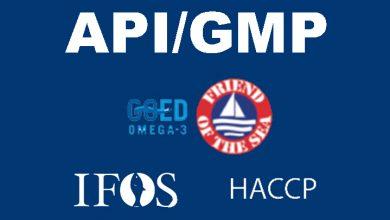 Photo of İFOS Nedir? APİ/GMP Nedir? İFOS Sertifikalı Balık Yağı Nedir?