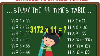 Photo of Herhangi Bir Sayıyı 11 ile Çarpmanın En Akıllı Yolu