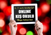 6., 7. ve 8. Sınıflar için Online Kış Eğitimi